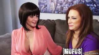 YouPorn - Mofos Hot milf teaches young couple